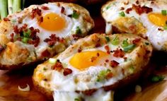 <p>Ingredients: 3 large Idaho russet potatoes 6 eggs 4 slices of bacon (reserving 2 T. of bacon fat from cooking) 4 scallions, chopped finely 1/2 c. cheddar cheese, grated 1/4 c. milk 1/4 t. salt 1/4 t. pepper olive oil, salt and pepper for seasoning the potatoes Instructions: Heat the …</p>