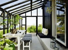 adding a small sunroom to house House Design, Summer House, Outdoor Rooms, Outdoor Space, Ideal Home, Home, Sunroom Designs, Winter Garden, Outdoor Spaces
