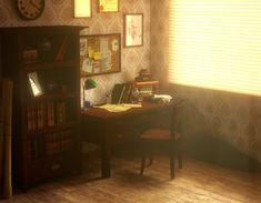 Old warm office by ~Zajeczyca on deviantART