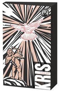 Karin Boyes Kris är en proslyrisk klassiker om ungdomsångest, sexualitet och gudstro. Omslaget är gjort av den bulgariska illustratören Tzenko Stoyanov.