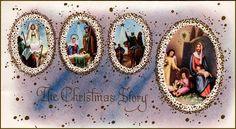 #Nativity #Christmas #Jesus Christmas Jesus, Christmas Cards, Holy Night, Holi, Vintage Christmas, Nativity, Christmas E Cards, O Holy Night, Christmas Nativity