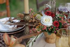 tall tablescape