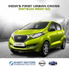 India's first urban cross #DatsunRediGo Book here: http://goo.gl/nUExDo #DatsunCars #FamilyCar