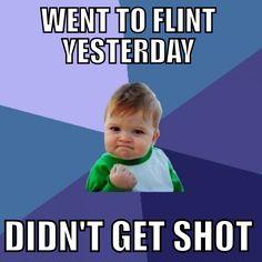 Flint, Michigan meme