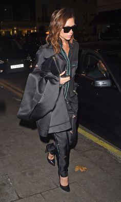 WHO:Victoria Beckham WHAT: Victoria Beckham WHERE: On the street, London WHEN: November 24, 2016