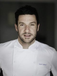 "Most people hate losing. Not Sam Talbot. He was eliminated in the finals of Top Chef in season two. ""It was a blessing in disguise,"" Cooking Tv, Surf Lodge, Restaurant Guide, Reality Tv, Talbots, Chef Jackets, How To Look Better, Eye Candy, Sexy"