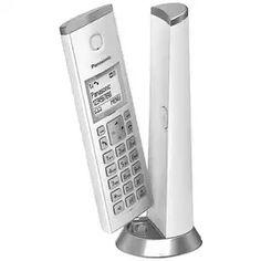 Buy Panasonic KX-TGK220EW Cordless Telephone Dect-White Single   Telephones   Argos