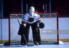 goalie-bernie-parent-poses-for-a-portrait-for-the-nhl-allstars-during-picture-id115266897 (1024×717) Hockey Helmet, Hockey Goalie, Philadelphia Flyers, Bernie Parent, Nhl All Star Game, Goalie Mask, Old School, Parenting, Punk