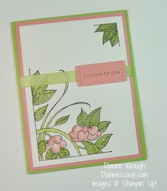 Serene Garden stamp set Aqua Painter, Stampin' Up!