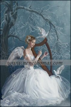 Welcome to the online artwork gallery of romantic artist Nene Thomas! Our site features a wealth of information about Nene Thomas, her artwork, and informative Fairy Pictures, Angel Pictures, Fantasy World, Fantasy Art, Fairies Photos, I Believe In Angels, Angels Among Us, Angels In Heaven, Heavenly Angels