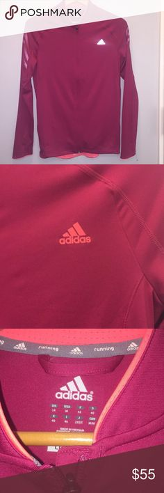 ADIDAS supernova running jacket worn once like new, stretchy material and very comfy adidas Jackets & Coats