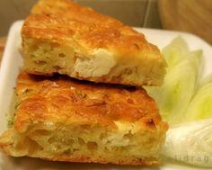 Солен кекс със сирене и праз