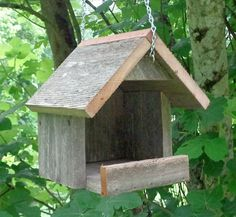 Hanging Rustic Nesting Shelter for Robins Mourning Doves and