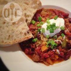 Foto recept: Chili con carne uit de slowcooker