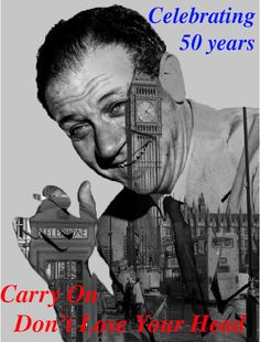 This is a poster I created for the anniversary of Carry On Don't Lose Your Head Online Portfolio, Losing You, 50th Anniversary, I Movie, Carry On, Film, Celebrities, Poster, Movie