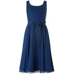 Phase Eight Arden Prom Dress, Cobalt ($210) ❤ liked on Polyvore featuring dresses, prom dresses, blue midi dress, maxi dress, mini dress and cocktail prom dress
