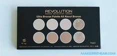 Paleta de coloretes All About Bronze de MAKEUP REVOLUTION www.makeupintheair.com/paletas-de-makeup-revolution