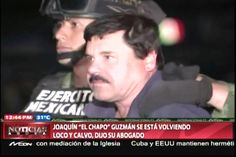 """El """"Chapo Guzmán"""" Se Está Volviendo Loco Y Se Le Cae El Pelo Debido A La Presión Psicológica Que Le Hacen En La Cárcel De México Donde Está Apresado"""