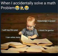 Tag your friends. by Memes Funny School Jokes, Some Funny Jokes, Crazy Funny Memes, Really Funny Memes, School Memes, Funny Relatable Memes, Funny Facts, Math Memes Funny, Fuuny Memes