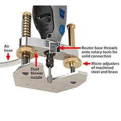 Precision Router Base Complete Set | stewmac.com