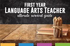 First Year Language Arts Teacher Ultimate Guide: new ELA teacher? This resource is all you need to succeed at your first year of teaching.