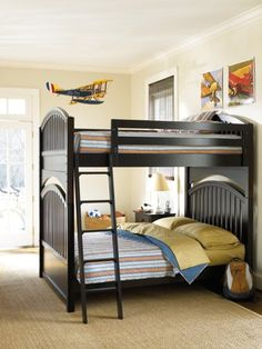 Wow! A Double over Double All Seasons Bunk Bed. That's room for 4 - maybe even more.  http://www.youngamerica.com/all-seasons-bunk-bed.html