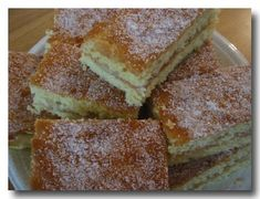 Kahvipöydän pikaleivokset - Ullan pullat ja keitokset - Vuodatus.net - Baked Doughnuts, Sweet Pastries, Something Sweet, Dessert Bars, No Bake Cake, Baked Goods, Sweet Recipes, Cookie Recipes, French Toast