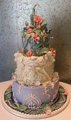 Cake Wrecks - Home - Sunday Sweets: Art Nouveau