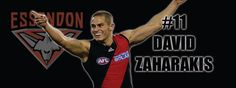 David Zaharakis #11 Essendon Football Club