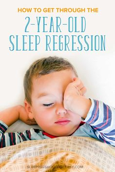Is your once good sleeper suddenly resisting sleep and disrupting your schedule? Maybe it's adjusting to the new baby, dealing with separation anxiety, climbing out of the crib, or not sleeping through the night. Your sleep problems don't have to last forever! Discover 7 tips and ideas to get through the 2 year old sleep regression in toddlers once and for all. A must-read for every exhausted mom! #toddler #toddlerlife