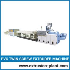 Pvc Twin Screw Extruder Machine  Prime margo offers high quality range of twin screw extruder machine. The machine itself is a complete system and offers high productivity. Our PVC twin screw extruder machine contains twin screw with diameter ranges from 52 mm to 91 mm. it is provided with different configurations with respect to its application area.