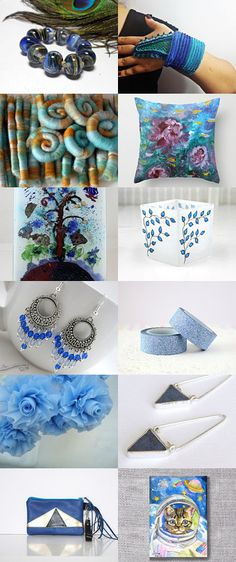 Blue Over You by Rose Anne on Etsy--Pinned with TreasuryPin.com