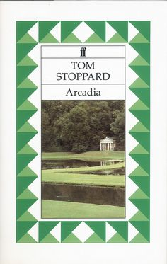 1993 edition of 'Arcadia' by Tom Stoppard. Series design by Pentagram. More about the book: http://www.faber.co.uk/work/arcadia/9780571169344/
