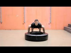 LIVESTRONG: How to do Tire Lift (Deadlift Substitute)