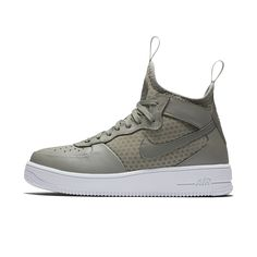 Nike Air Force 1 UltraForce Mid Women's Shoe Size 5.5 (Black) - Clearance  Sale