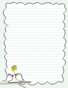birdie note paper