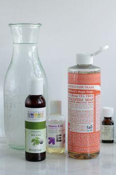 DIY Homemade Liquid Hand Soap | Live Simply