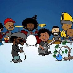 Soul Peanuts ...The Roots Crew This is just cool!