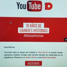 Qué pena! Gran fiesta por los 10 años de YouTube justo cuando viene el camión de la mudanza. No podemos ir BUAAAAA!  #youtube #youtuber #youtubers