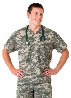 camo  If I need scrubs I want these!