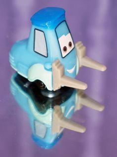 2014 DISNEY PIXAR CAR MICRO DRIFTERS GUIDO NEW LOOSE MINT #Mattel