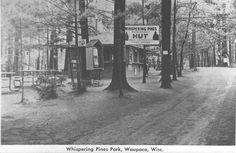 Whispering Pines Park on Marl Lake in Waupaca. So many wonderful memories here!