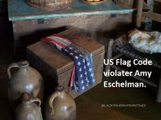 Why do people who like primitives also like to disrespect the US Flag?