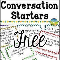 Free Counseling Conversation Starters