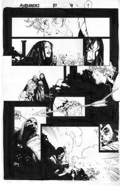 Avengers 81 Page 11 Comic Art