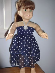 recycles child's skirt made 2 of these cute dresses (elastic bodice with ribbon straps- 1 available