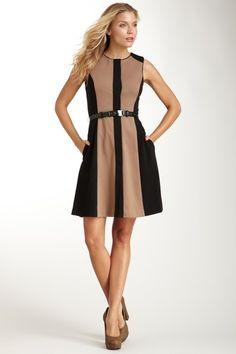 Vince Camuto  Paneled Shift Dress - hautelook.com