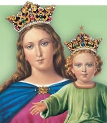 Novena e Festa di Maria Ausiliatrice ~Novena and Feast of Mary Help of Christians Blessed Mother Mary, Blessed Virgin Mary, Jesus Father, Hail Holy Queen, Juan Pablo Ii, I Love You Mother, Queen Of Heaven, Mama Mary, Mary And Jesus