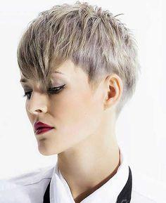 16-Short Hair with Bangs