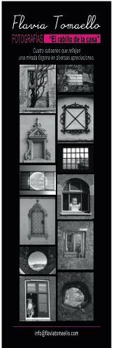 """El 3 de septiembre  inauguraremos la muestra """"El rabillo de la casa 2"""" en Abralux, Paraguay 1618 (seguirá hasta el 12 de octubre abierta de Lun. a Vie. de 9 a 18hs y Sab. de 10 a 13hs.)."""